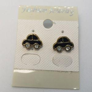 Little Car Stud Earrings